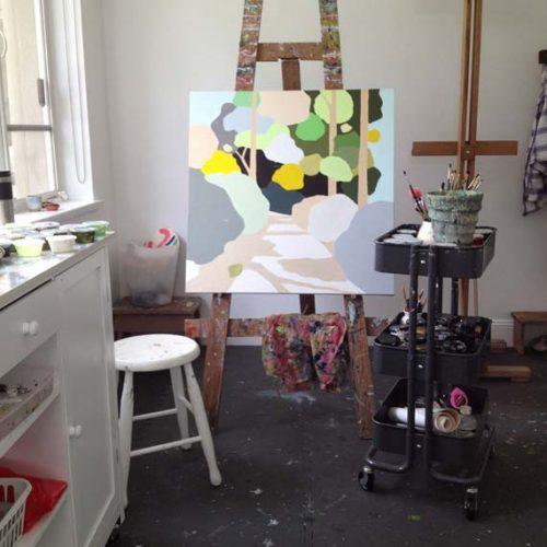Clare Brodie's studio Friday Meanderings